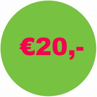 Alles onder € 20,-